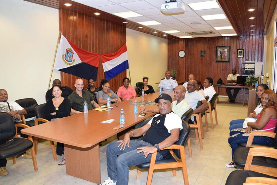 Sint Maarten Police Report : Police Force in talks with business operators on A. Th. Illidge road