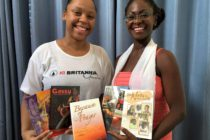 Youth foundations reading about St. Martin personalities and culture