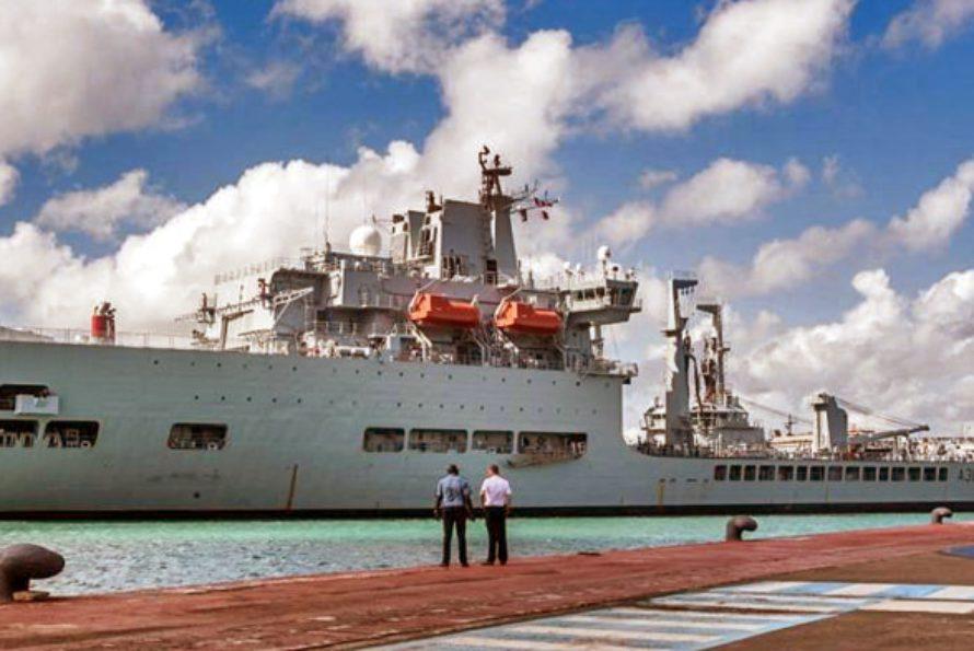 Coopération : Le RFA « Wave Knight » en escale en Martinique