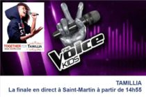 TAMILLIA the Voice-Kids : Suivez la finale en direct à Saint-Martin à partir de 14h55