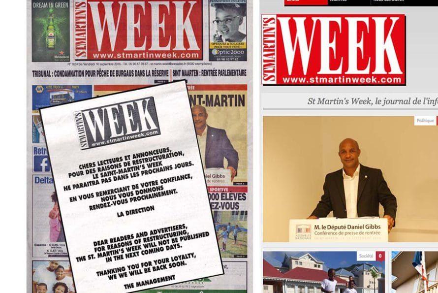 Presse locale : Oyé ! Oyé ! Le Week's est mort ! Vive le Week's !
