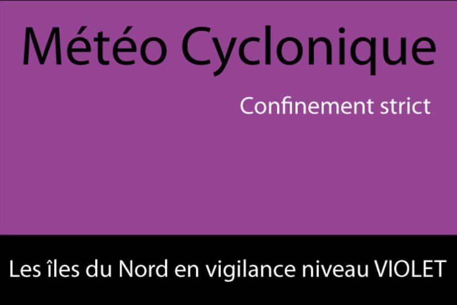 St-Barthélemy & St-Martin en niveau de vigilance violet à compter de 22h ce mardi 5 septembre 2017