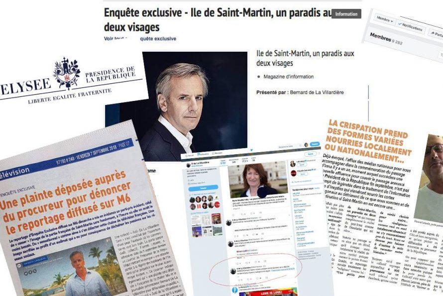 """Réponse du Président Gibbs concernant """"Enquête Exclusive"""" de Monsieur De la Villardière sur M6"""