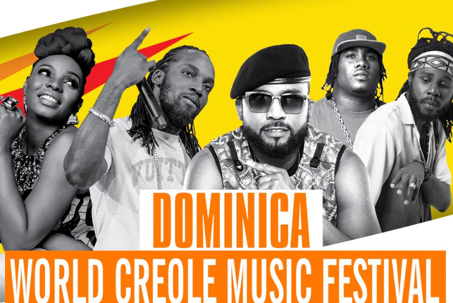 SXMINFO présente le World Créole Music festival 2018 Rediscover Dominica du 26 au 28 octobre 2018