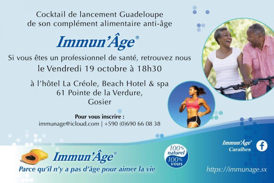 Guadeloupe : Quand la marque Immun'Âge® fait peau neuve !