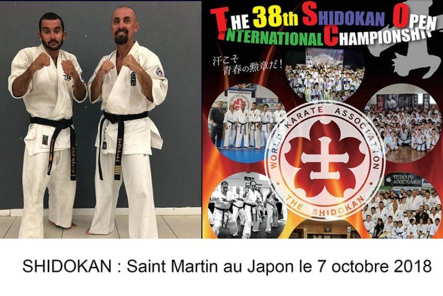 SHIDOKAN : Saint Martin au Japon le 7 octobre 2018