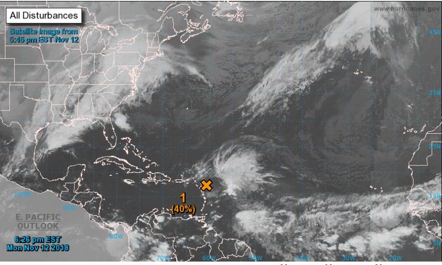 Vigilance Jaune pour les IDN : L'onde tropicale Invest 96L devrait produire de fortes pluies sur St-Barthélemy et St-Martin