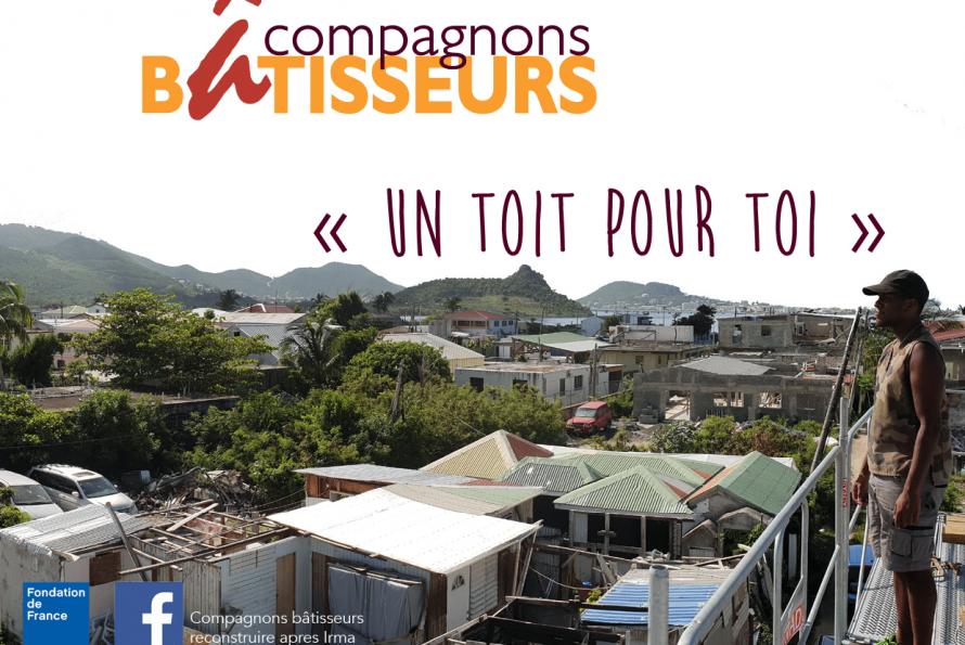 Saint-Martin : Séance de formation organisée par l'Association Nationale des Compagnons Bâtisseurs