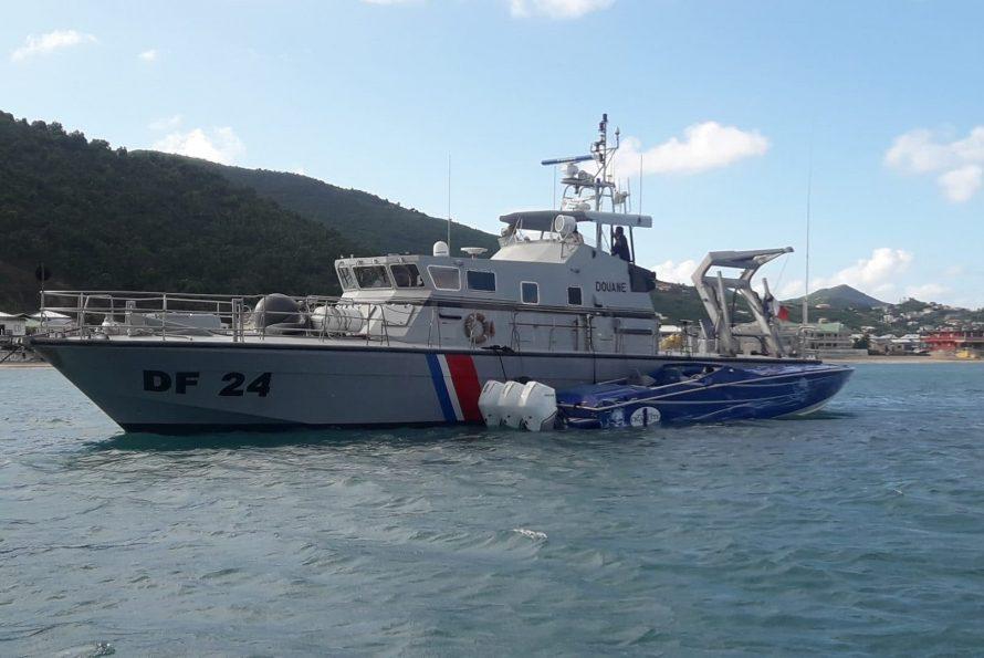 Gérald DARMANIN félicite les douaniers de Saint Martin pour leur saisie de 285 kilos de cocaïne