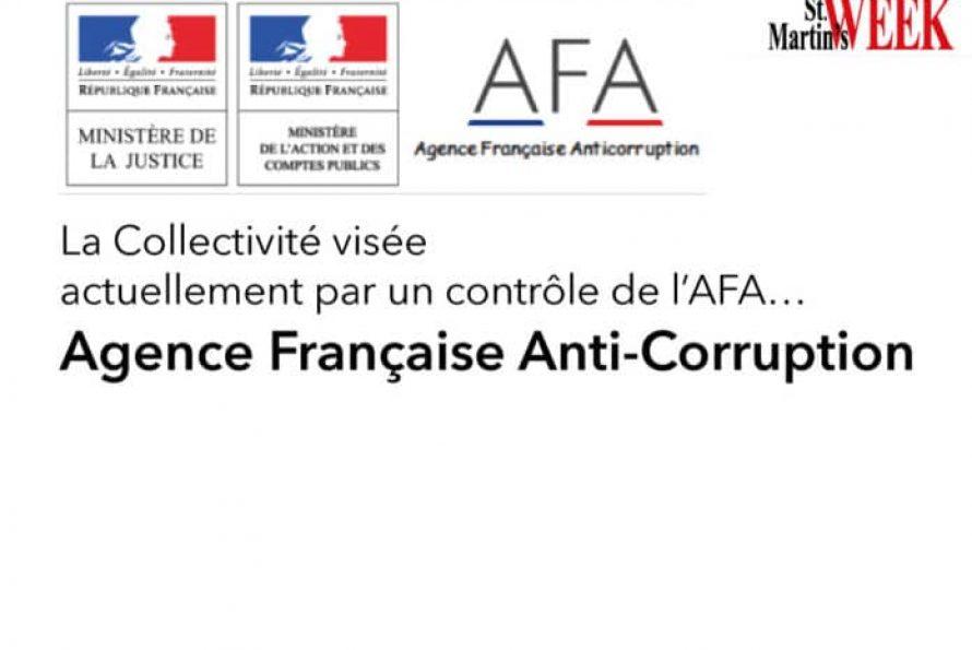 AFA, pour Agence Française Anti-corruption : mission en cours au sein de la Collectivité de Saint-Martin (par le StMartin's Week)