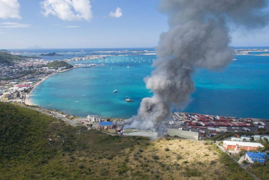 Saint-Martin : Frigodom part en fumée