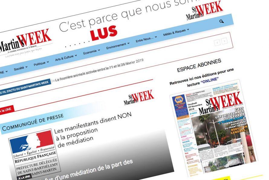 Des investisseurs des Émirats Arabes Unis s'intéressent à la presse saint-martinoise ?