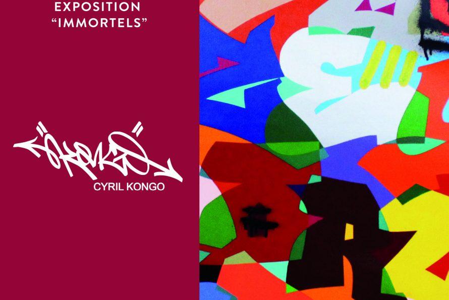 """Saint-Barthélemy : Cyril Kongo nous invite à découvrir ses dernières recherches picturales et conceptuelles à travers l'exposition """"Immortels"""""""