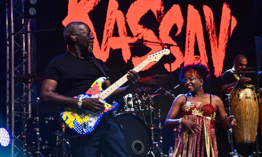 Guadeloupe : KASSAV EN LIVE