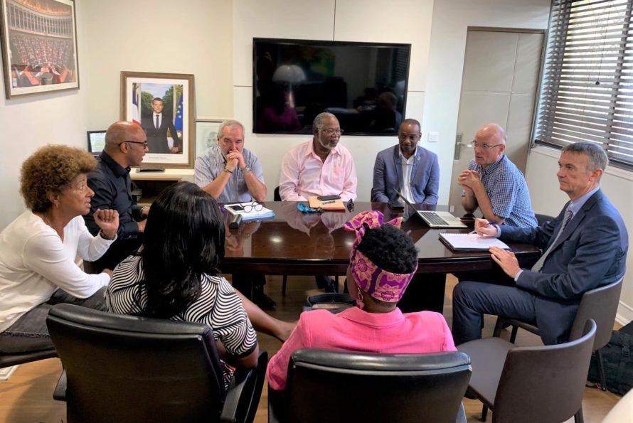 Rencontre des élus de l'exécutif avec le Préfet Dominique Lacroix qui conduit la mission de révision du PPRN par anticipation
