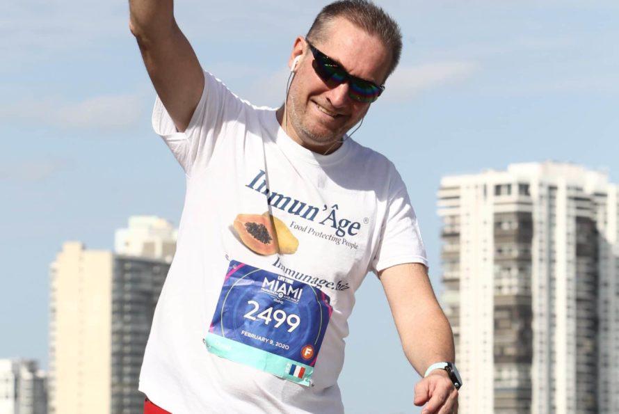 """Marathon de Miami 2020 : Reprise de l'entrainement de """"Crazy Dave"""" (David Redor) pour son record de 2021"""