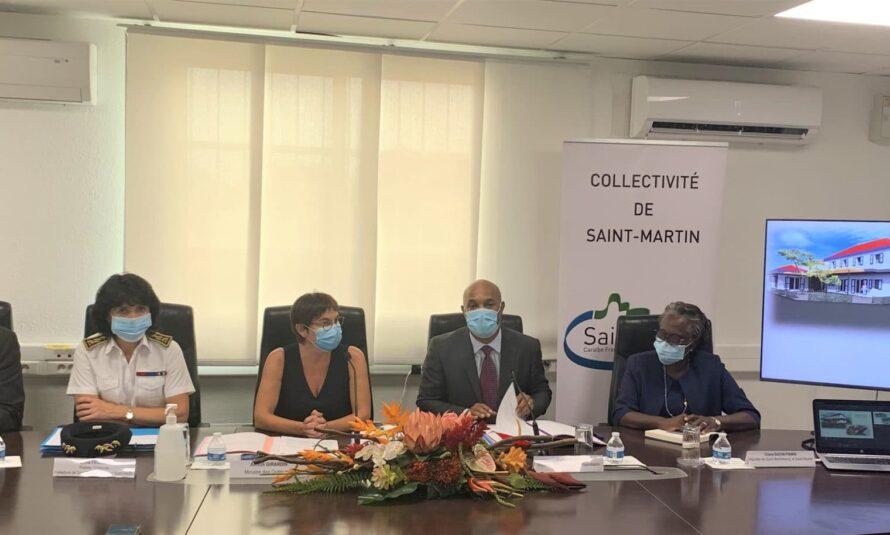 Visite de la Ministre des Outre-mer : Allocution du Président de la Collectivité de Saint-Martin