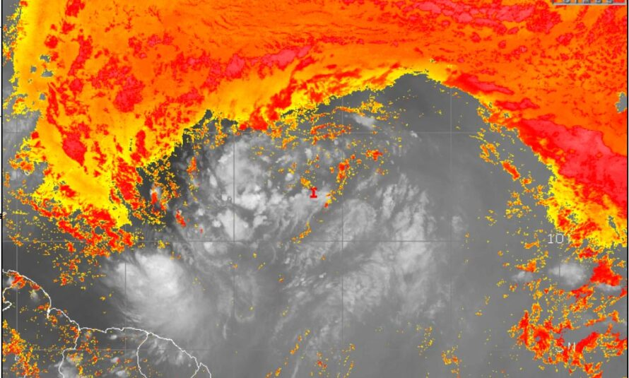 Invest 92L #3 – 27 juillet 2020 – 23H00 UTC par Météo Tropicale