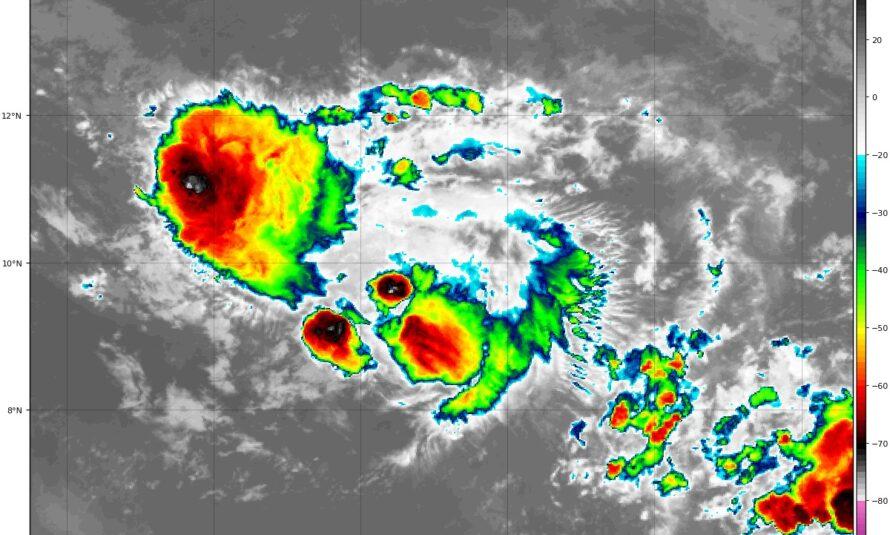 Tempête Gonzalo – #4 – 23 juillet 12h UTC par METEO TROPICALE