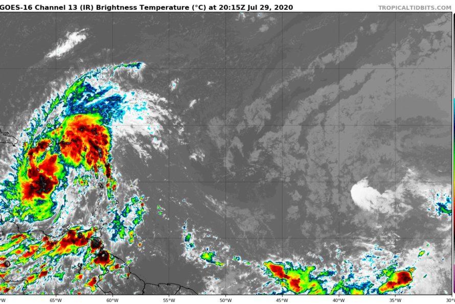 Invest 92L #7 – 29 juillet 2020 – 19H00 UTC par Météo Tropicale