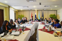 Minister of Justice Richardson attends first judicial four-party consultation in Aruba